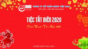 Tiệc tất niên và đón chào năm mới Tân Sửu 2021 công ty GMPc Việt Nam