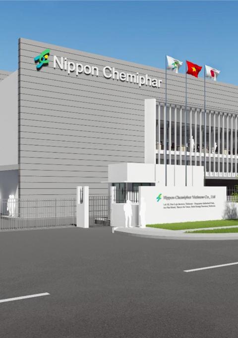 Nhà máy dược Nippon Chemiphar tiêu chuẩn GMP