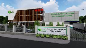 Nhà máy mỹ phẩm Thái Hương tiêu chuẩn CGMP ASEAN