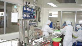Nhà máy sản xuất thuốc thú y Thủy sản Nam Dũng tiêu chuẩn WHO GMP