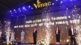 Lãnh đạo GMPc Việt Nam dự lễ khánh thành Vimac - Nhà máy mỹ phẩm tiêu chuẩn CGMP ASEAN/ISO 22716