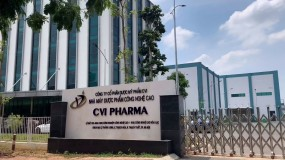 Nhà máy Dược mỹ phẩm Công nghệ cao CVI Pharma