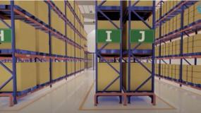 Mô hình 3D Kho bảo quản thuốc, nguyên liệu làm thuốc tiêu chuẩn GSP