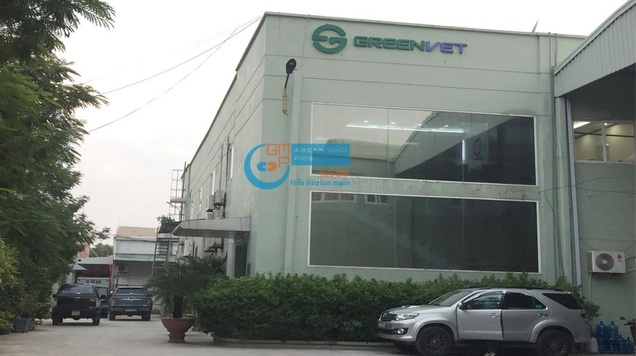 Nhà máy sản xuất thuốc Thú y GreenVet (Tập đoàn Phú Thái)