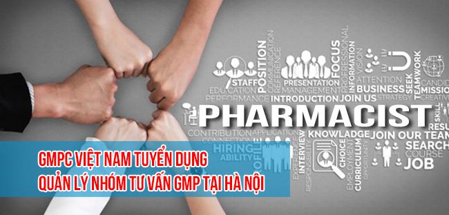GMPc Việt Nam tuyển dụng vị trí Quản lý nhóm tư vấn GMP tại Hà Nội