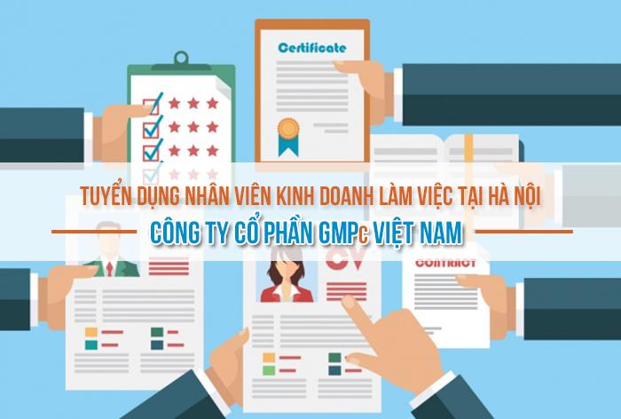 Tuyển dụng nhân viên kinh doanh làm việc tại Hà Nội