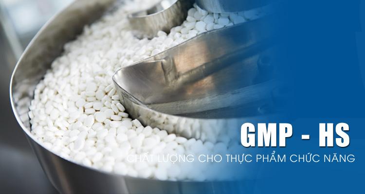 Hướng dẫn thực hành sản xuất tốt GMP thực phẩm chức năng (HS GMP)